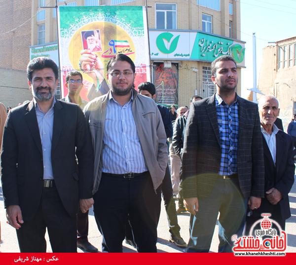 حضور مردم رفسنجان در حماسه 9 دی سال 93 (خانه خشتی)36