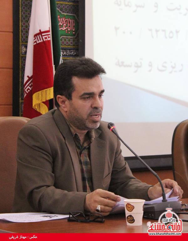 دکتر مظفری رئیس بیمارستان علی بن ابیطالب رفسنجان