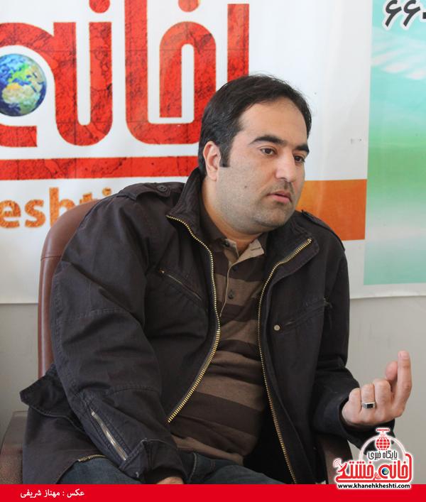 سید محسن سجادی عکاس کشوری در دفتر سایت خانه خشتی رفسنجان4
