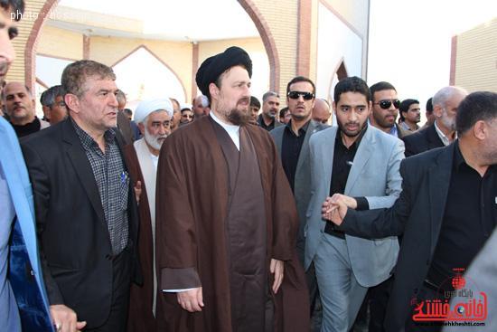 دوربین خانه خشتی در سفر سید حسن خمینی به رفسنجان
