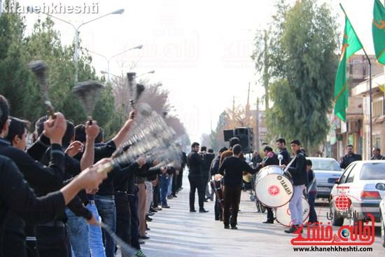 دوربین خانه خشتی در عزاداری روز شهادت ثامن الحجج(ع) در رفسنجان