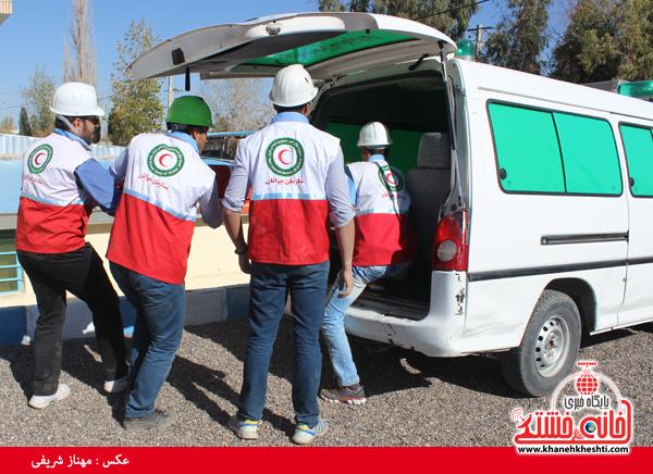 مسابقه امداد در سوانح در دانشگاه پیام نور رفسنجان(خانه خشتی)8