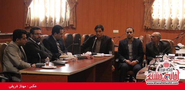 کمیسیون دانشجویی روز 16 آذر ماه در فرمانداری رفسنجان1