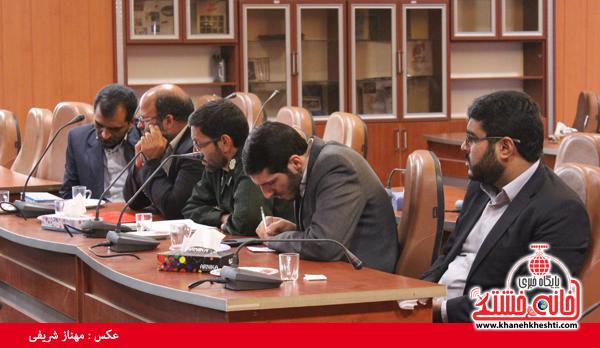 کمیسیون دانشجویی روز 16 آذر ماه در فرمانداری رفسنجان2