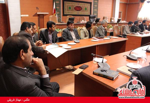 کمیسیون دانشجویی روز 16 آذر ماه در فرمانداری رفسنجان3