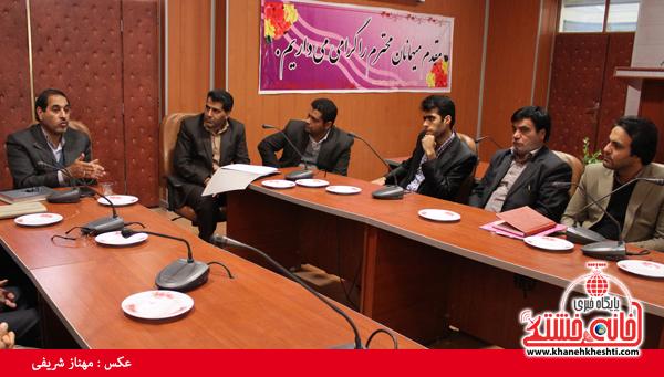 کمیسیون دانشجویی روز 16 آذر ماه در فرمانداری رفسنجان4