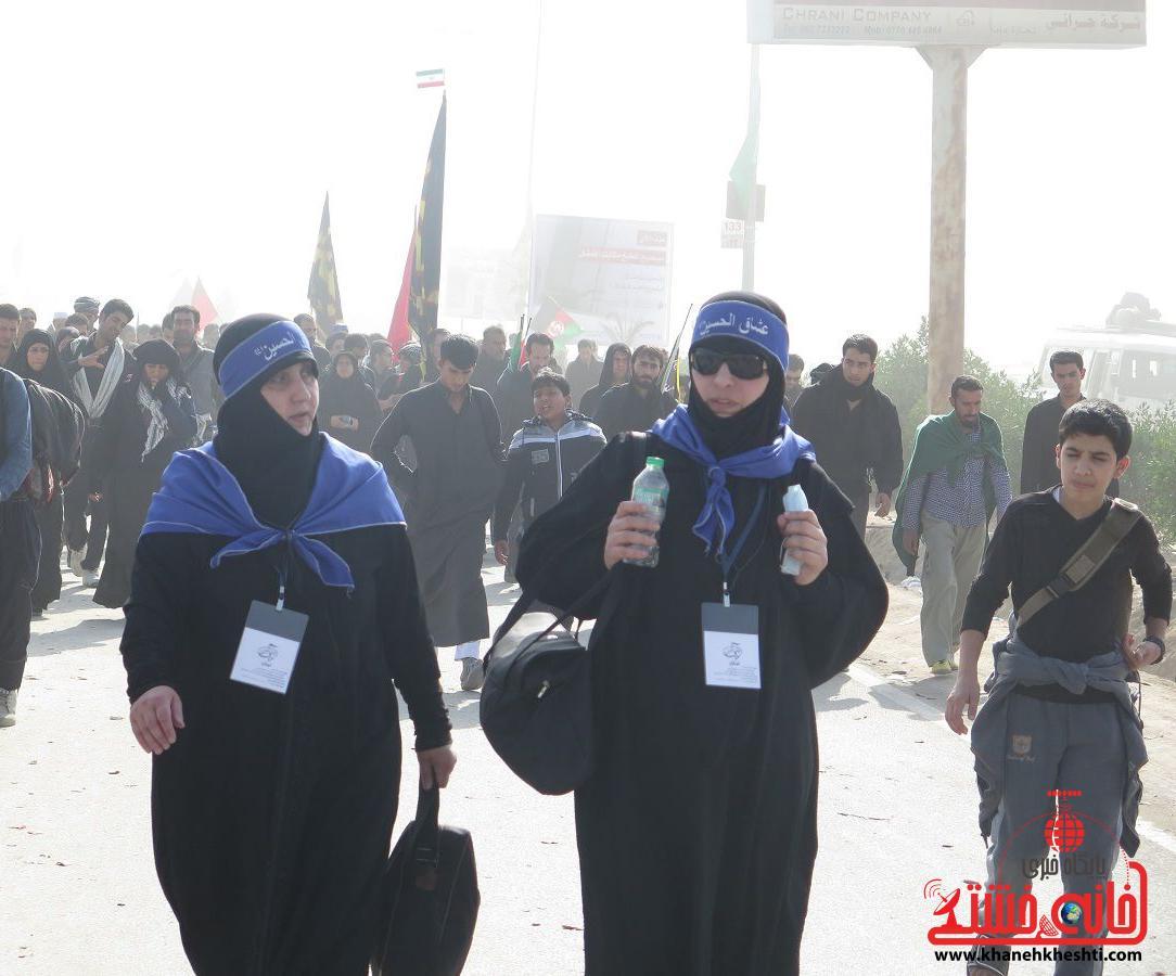 دوربین خانه خشتی در پیاده روی اربعین سید الشهداء/ کربلای معلی