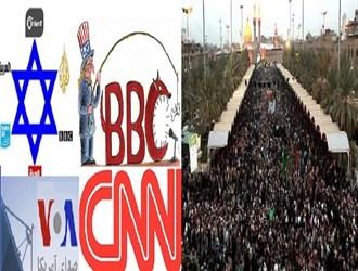 گردهمایی بزرگ شیعیان زیر تیغ سانسور/ حضور بیش از ۲۰ میلیون زائر در اربعین+ تصاویر