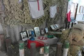 """نمایشگاه """"یادمان شهداء"""" در دانشگاه آزاد رفسنجان برپا شد"""