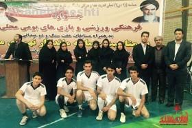 جشنواره بازی های بومی محلی استان کرمان شهرستان رفسنجان خانه خشتی21