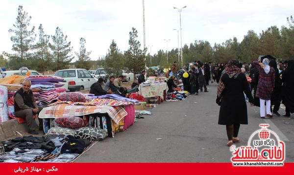 جمعه بازار رفسنجان به طور موقت تعطیل می شود