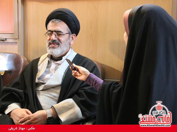 حجت الاسلام تقوی معاون گزینش شورای سیاست گذاری ائمه جمعه کشور (خانه خشتی)۱