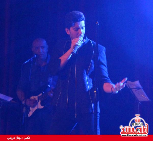 دوربین خانه خشتی در کنسرت فرزاد فرزین در رفسنجان