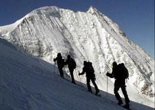 کوهنوردان رفسنجانی به بلندترین قله جنوب شرق کشور صعود می کنند