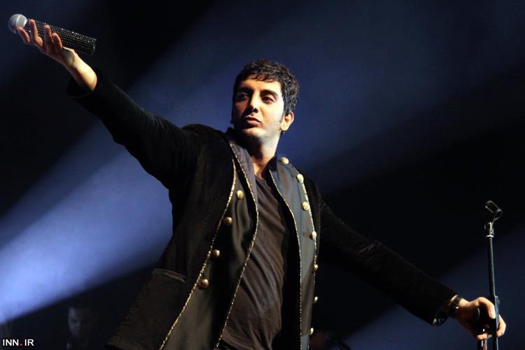 کنسرت فرزاد فرزین در رفسنجان برگزار شد