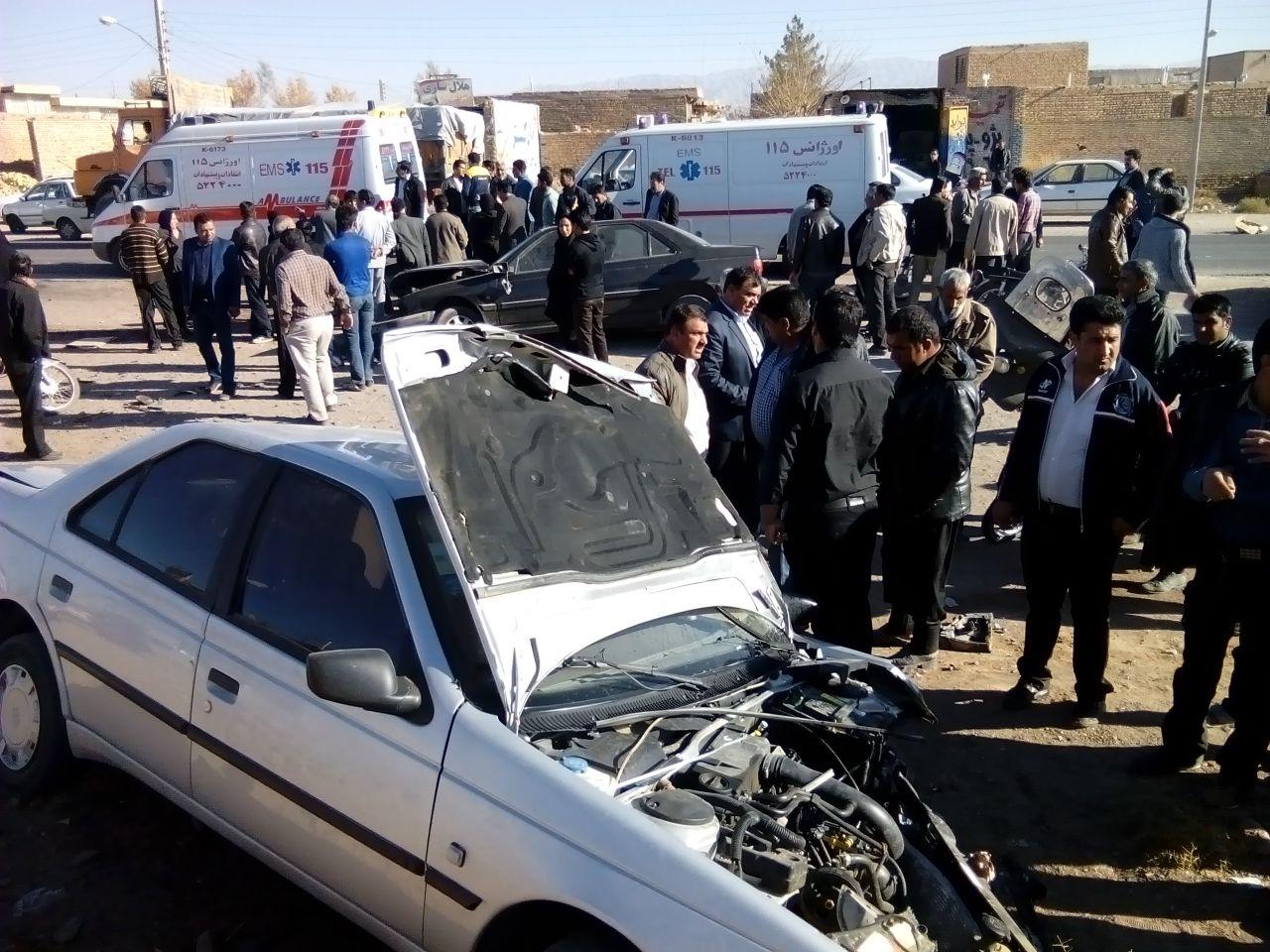 خدمات اورژانس 115 به مردم رفسنجان