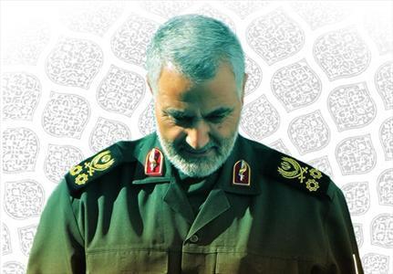 حاج قاسم سلیمانی در کنار پدرش +عکس