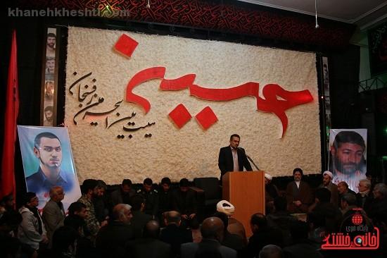 گرامیداشت سربازان سردار سلیمانی در رفسنجان برگزار شد + عکس
