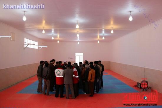 افتتاحیه سالن وشو رفسنجان-نماز وحدت رفسنجان (۷)