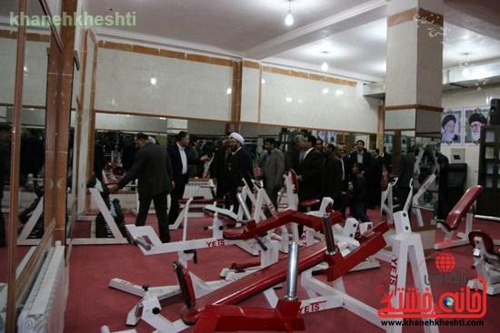 افتتاحیه مجموعه فرهنگی ورزشی ولایت رفسنجان (۱۷)