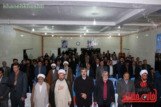 افتتاحیه مجموعه فرهنگی ورزشی ولایت رفسنجان (۳)
