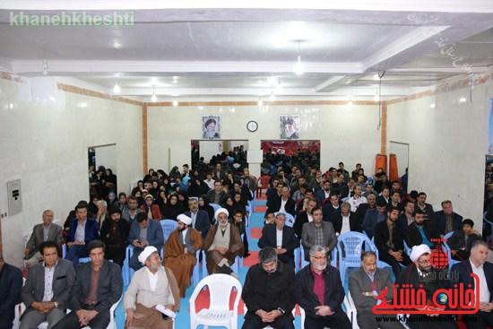 افتتاحیه مجموعه فرهنگی ورزشی ولایت رفسنجان (۵)