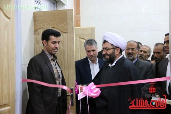 دوربین خانه خشتی در افتتاحیه مجموعه فرهنگی ورزشی ولایت رفسنجان