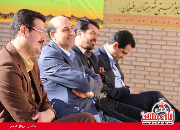 افتتاح مرکز اورژانس ۱۲۳ در رفسنجان(خانه خشتی)۱