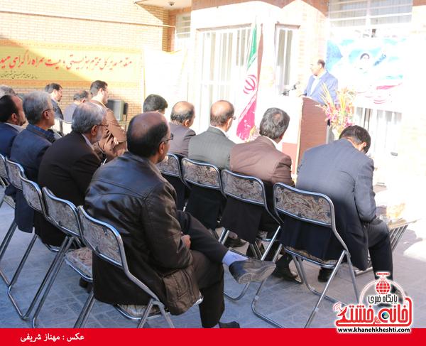 افتتاح مرکز اورژانس ۱۲۳ در رفسنجان(خانه خشتی)۲