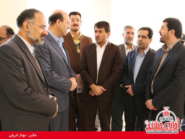 افتتاح مرکز اورژانس ۱۲۳ در رفسنجان(خانه خشتی)۴