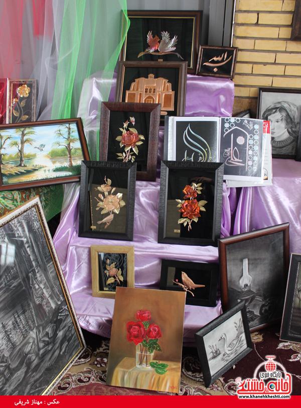 افتتاح نمایشگاه کوثر در مصلی امام خامنه ای رفسنجان(خانه خشتی)۱۶