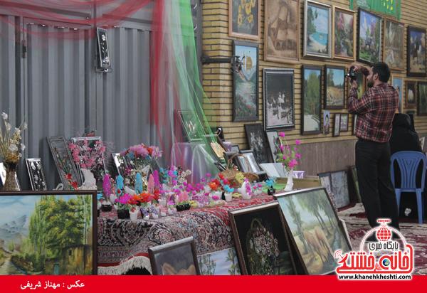 افتتاح نمایشگاه کوثر در مصلی امام خامنه ای رفسنجان(خانه خشتی)۲۲