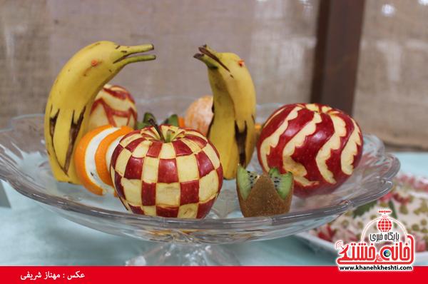 افتتاح نمایشگاه کوثر در مصلی امام خامنه ای رفسنجان(خانه خشتی)۲۴
