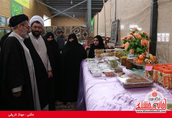 افتتاح نمایشگاه کوثر در مصلی امام خامنه ای رفسنجان(خانه خشتی)۴