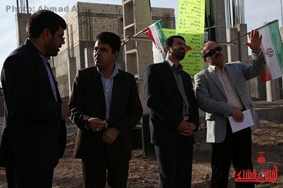 افتتاح پروژه برق رسانی رفسنجان_خانه خشتی (۲)