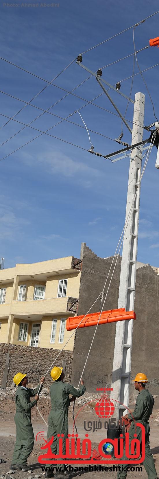 افتتاح پروژه برق رسانی رفسنجان_خانه خشتی (۴)