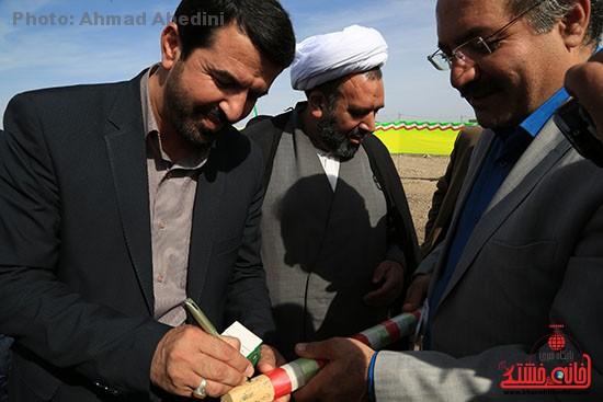 افتتاح پروژه های بخش کشکوئیه رفسنجان_خانه خشتی (۱۱)
