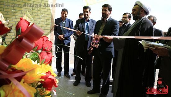 افتتاح پروژه های بخش کشکوئیه رفسنجان_خانه خشتی (۴)