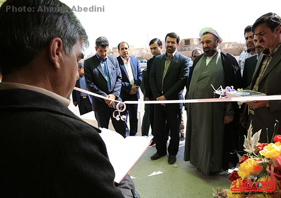 افتتاح پروژه های بخش کشکوئیه رفسنجان_خانه خشتی (۷)