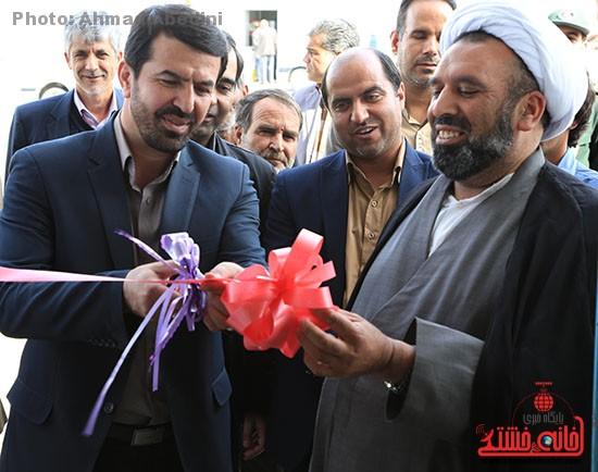 افتتاح پروژه های بخش کشکوئیه رفسنجان_خانه خشتی (۹)