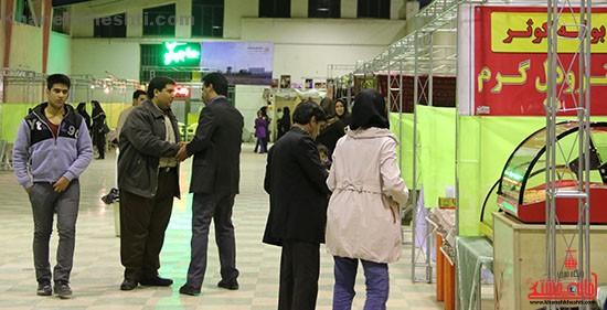 بازارچه خیریه کوثر در رفسنجان افتتاح شد + عکس