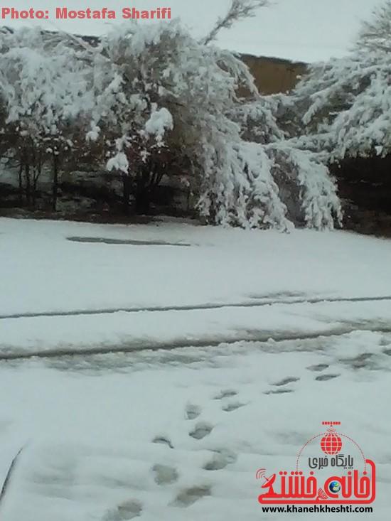 برف زمستانی-خانه خشتی۵