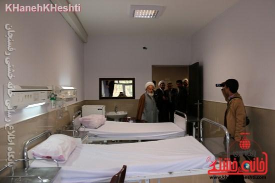 بیمارستان علی بن ابیطالب(ع) رفسنجان افتتاحیه جراحی زنان سرطان عیادت (۱۰)