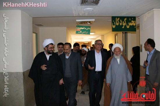 بیمارستان علی بن ابیطالب(ع) رفسنجان افتتاحیه جراحی زنان سرطان عیادت (۱۴)