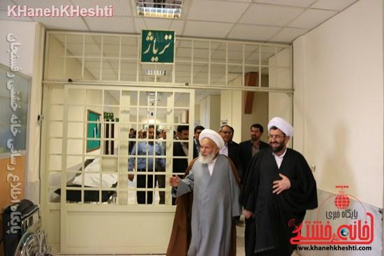 بیمارستان علی بن ابیطالب(ع) رفسنجان افتتاحیه جراحی زنان سرطان عیادت (۱۷)