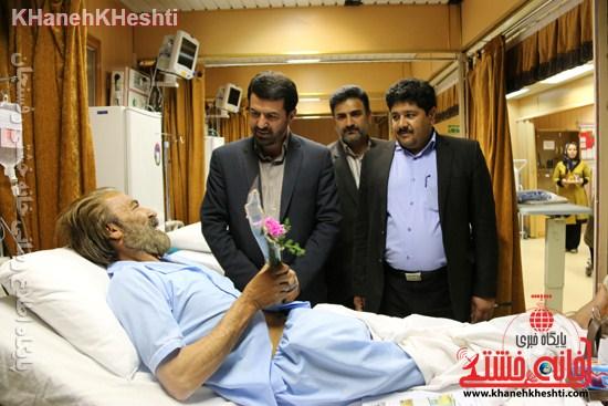 بیمارستان علی بن ابیطالب(ع) رفسنجان افتتاحیه جراحی زنان سرطان عیادت (۲۰)