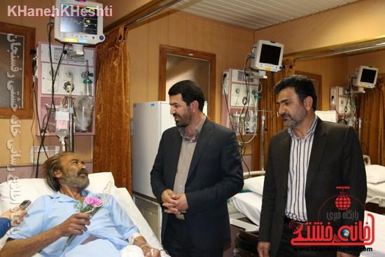 بیمارستان علی بن ابیطالب(ع) رفسنجان افتتاحیه جراحی زنان سرطان عیادت (۲۱)