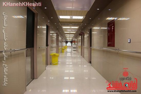 ایده ساخت یک بیمارستان خوب و خصوصی در رفسنجان باید محقق شود