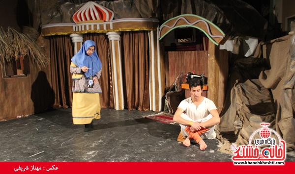 تئاتر علی بابا و چهل دزد بغداد در رفسنجان-خانه خشتی۱