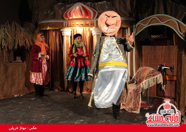 تئاتر علی بابا و چهل دزد بغداد در رفسنجان-خانه خشتی۲
